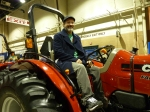 This Case IH Farmall 55 was our favorite - Stephen looks pretty good on it, don't you think?