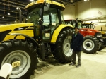 This Challenger was a lot more tractor than we'd ever need!